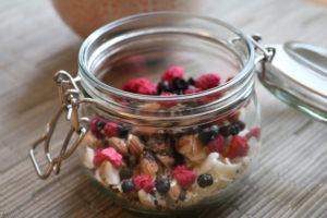 Blanding med frokostgrøt - klar til bruk
