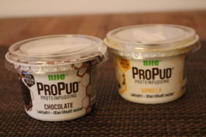 Noen ganger er de kjappe løsningene nødvendig! ProPud med sjokolade og vaniljesmak