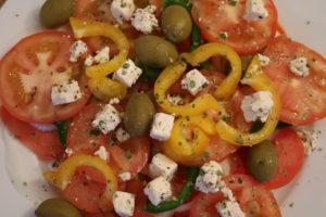 Nydelig gresk salat