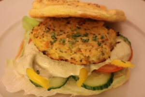 Blomkålburger - supersunt og kjempegodt!