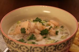 Fiskegryte - nydelige smaker, sunn og kjapt å lage
